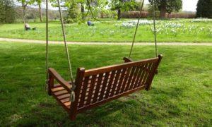 Swing bench - restored