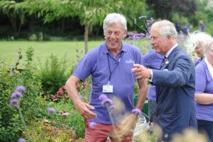A Royal Visit to our garden