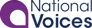 National Voices colour logo