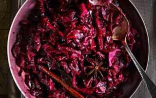 Festive Spiced Red Cabbage