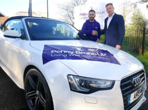 Vehicle leasing company drives cancer campaign