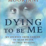 Photo of the book Dying to me me with a front cover featuring a blurred face
