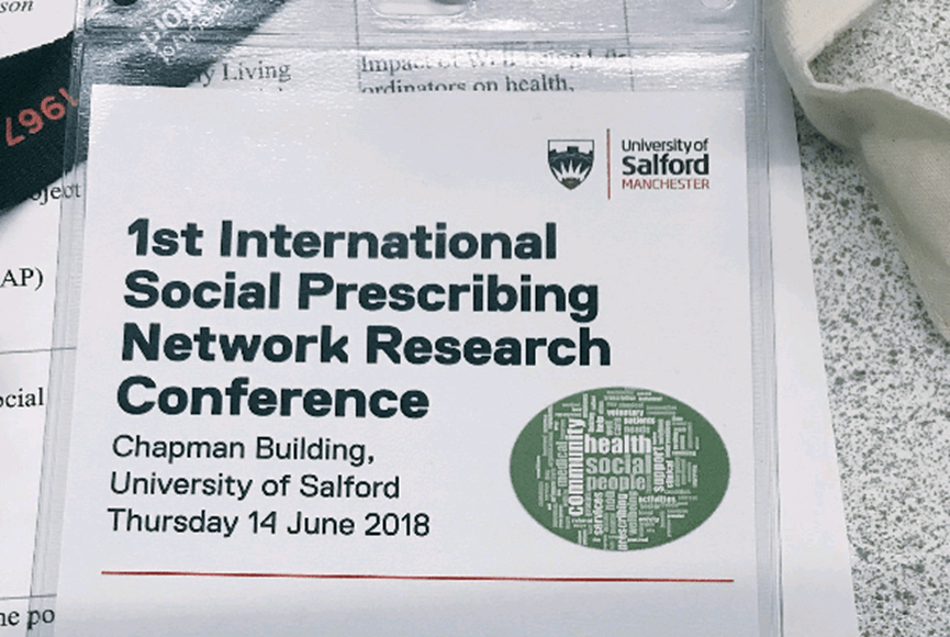 The first international social prescribing network research conference