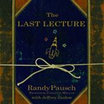 Photo of The Last Lecture Book with rocket on front cover