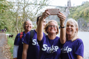 Hundreds of walkers stomp through Bristol
