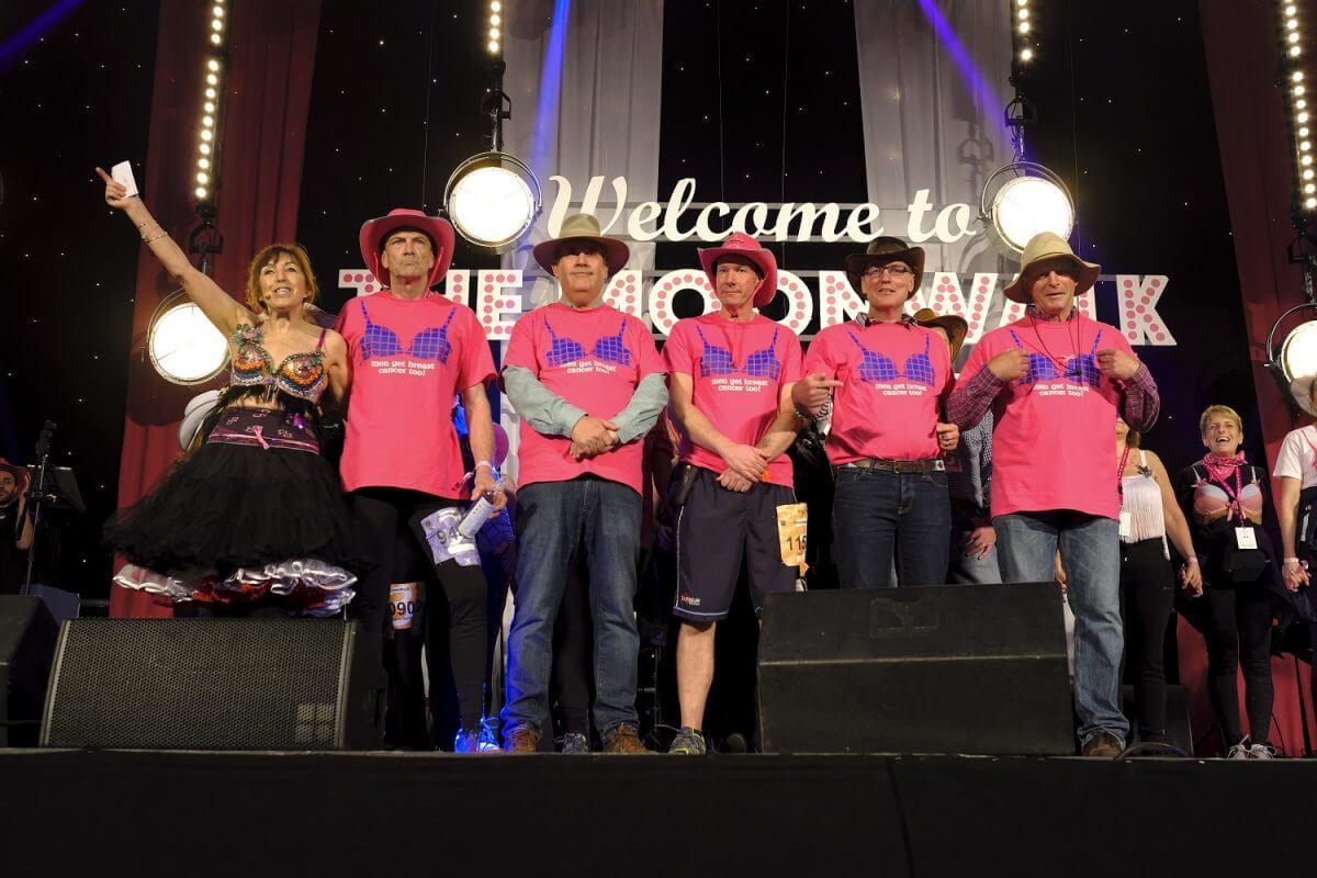 Guest blog: Walk the Walk - Men get breast cancer too!
