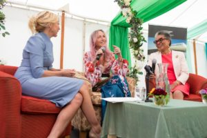 Her Majesty's Lord-Lieutenant awarded Jackie Collins honour