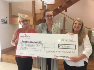 'Getfitathon' raises money for Penny Brohn UK