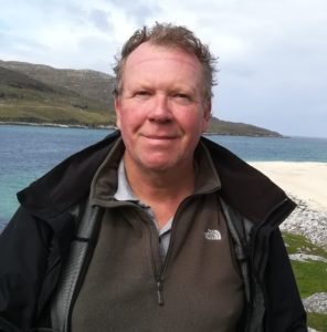 Photo of our client Mark on a walk