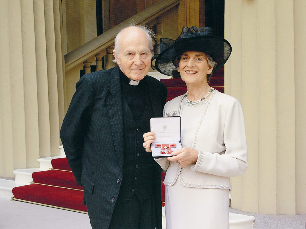 Pat is awarded an MBE