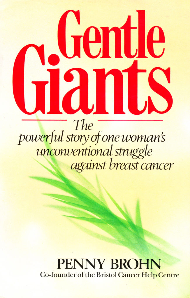 Photo of Gentle Giants book cover with yellow background