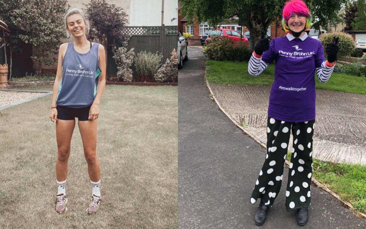 Runner and her supergran raise £1600 for Penny Brohn UK