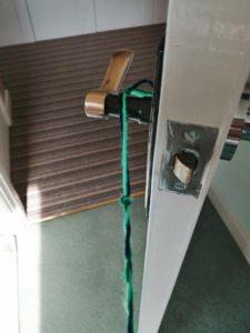 Macrame hanging pot holder