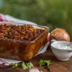 Warming beef or vegetable chilli recipe