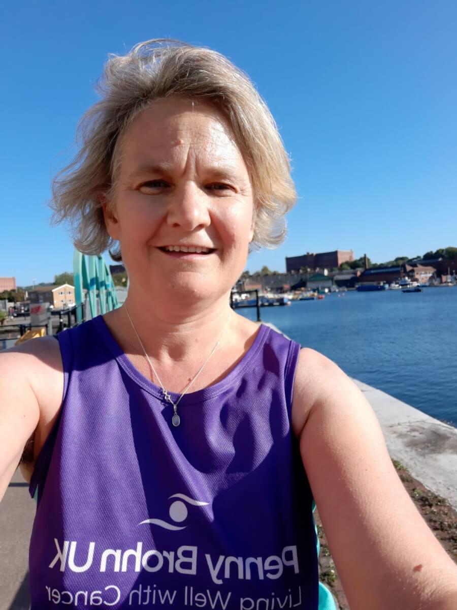 Sarah training at Bristol Harbour