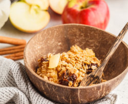 Christmas Spiced Crumble
