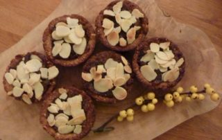 Apple Almond and Cranberry Mince Pies
