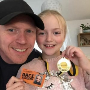 Penny Brohn UK client James and his daughter
