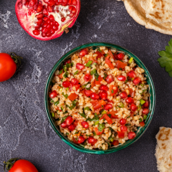 Buckwheat Tabbouleh with Pomegranate